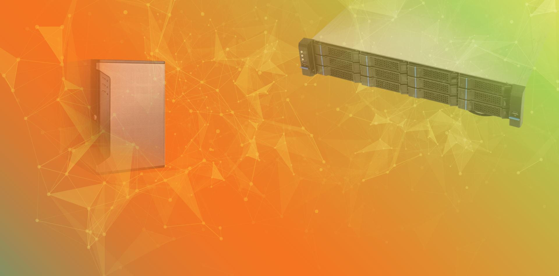 Wisenet WAVE soluciones de servidor optimizadas